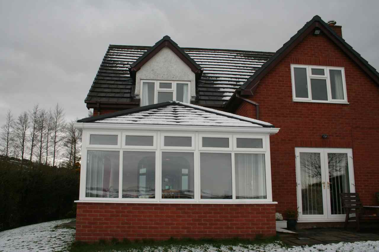 Charcoal Metro Tile - Guardian Conservatory Roofs