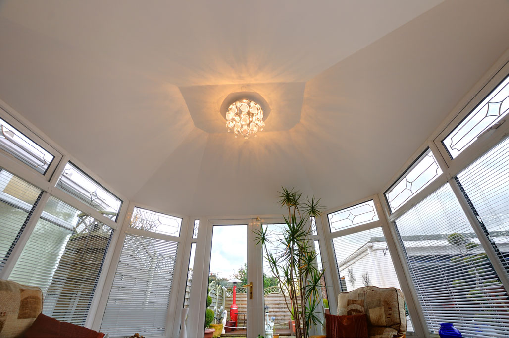 Guardian conservatory roof interior finishes for Interior finishing company