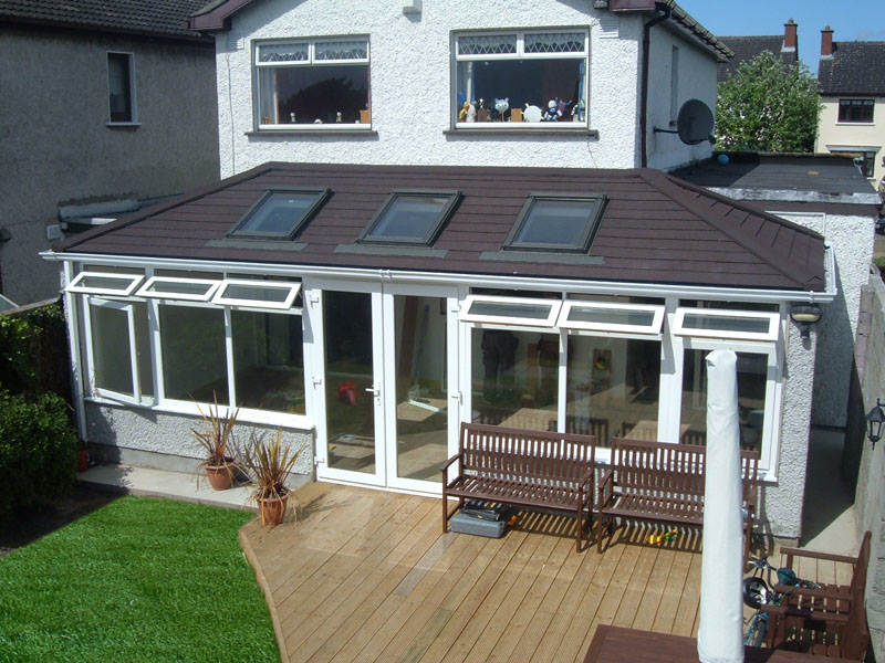 Double Hipped Guardian Tiled Roof For Conservatories