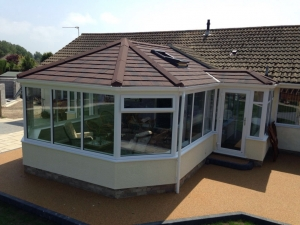 A conservatory in Almondsbury with a Guardian Warm Roof