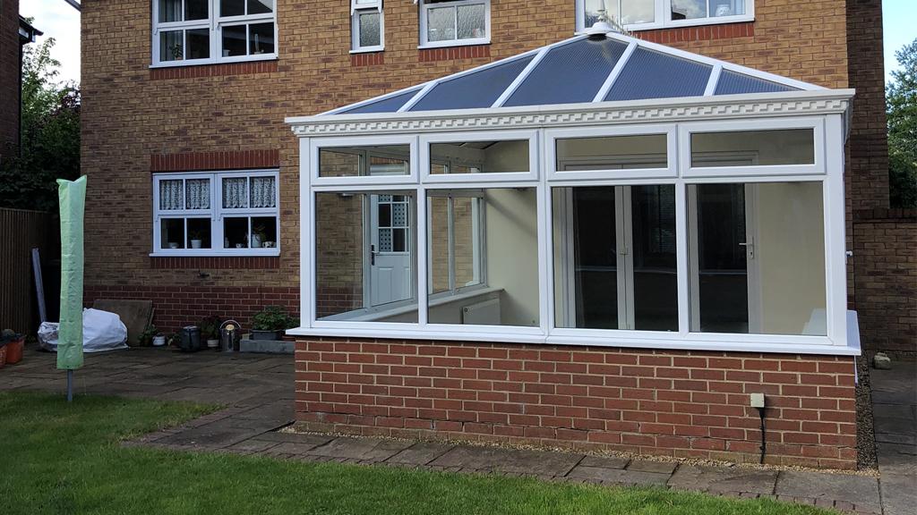 Edwardian Tiled Conservatory Roof