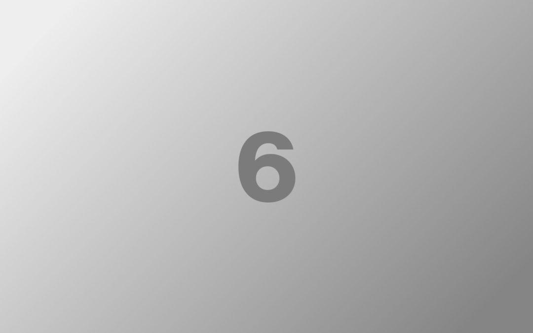 Blog post six