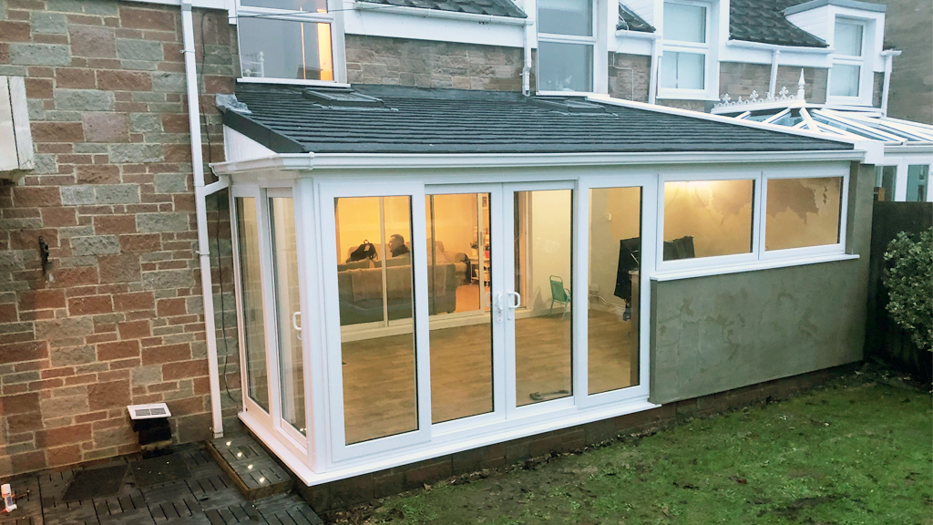 Lean To Tiled Conservatory Roof